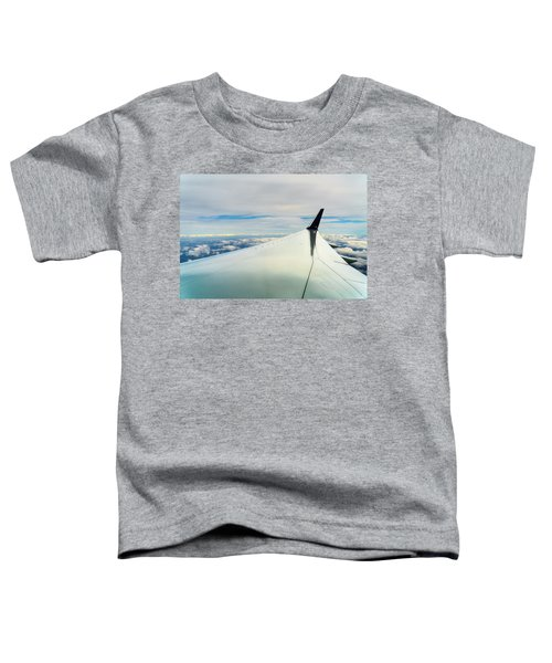 Wing And Clouds Toddler T-Shirt