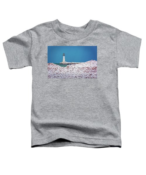 Winter At Sodus Point  Toddler T-Shirt