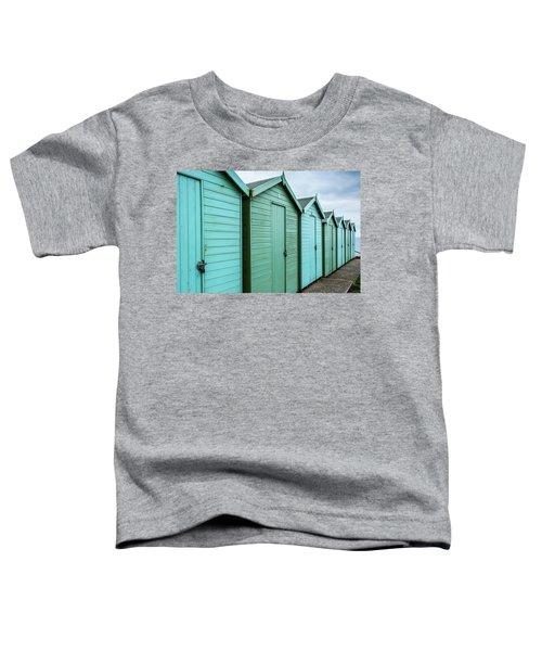 Winter Beach Huts IIi Toddler T-Shirt