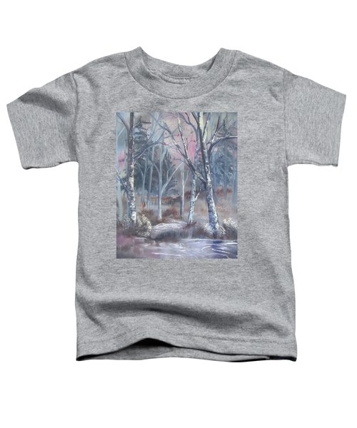 Winter Cardinals Toddler T-Shirt