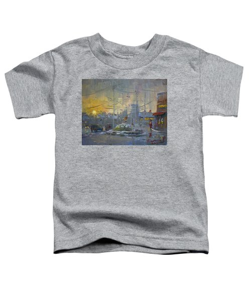 Winter End Of Day Toddler T-Shirt