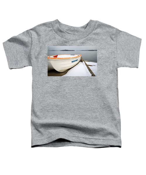 Winter, Falmouth, Maine  -18674 Toddler T-Shirt
