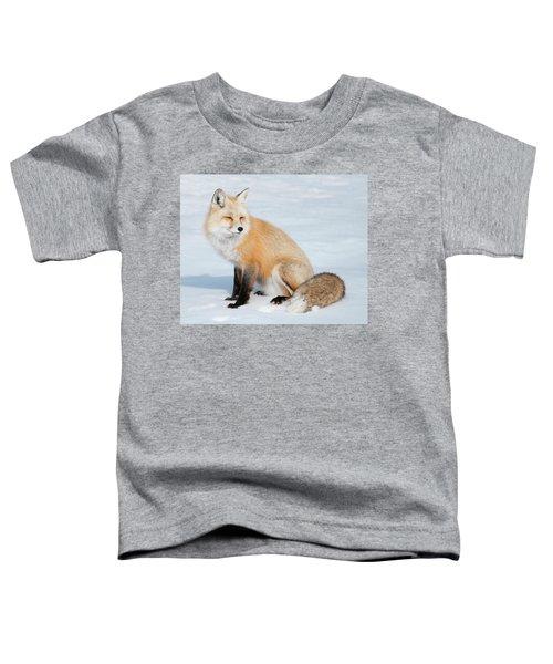 Winter Fox Toddler T-Shirt