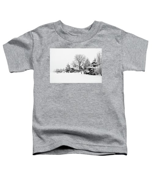 Winter In Black And White Fleckl, Germany 2 Toddler T-Shirt