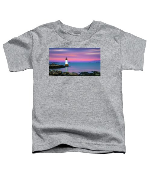 Winter Island Light 1 Toddler T-Shirt