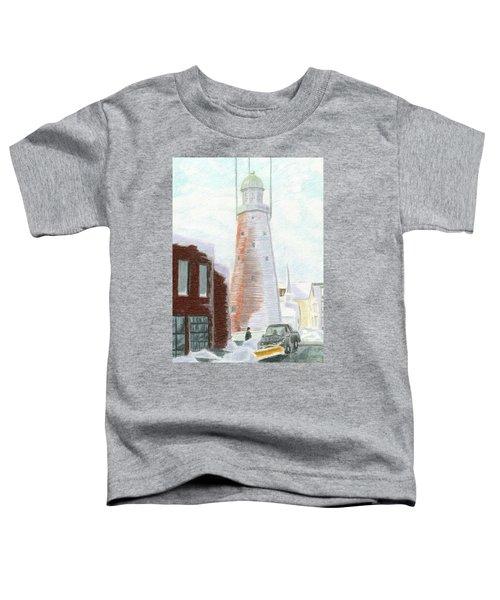 Winter On Munjoy Hill Toddler T-Shirt