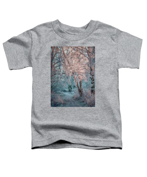 Winter Path #h1 Toddler T-Shirt