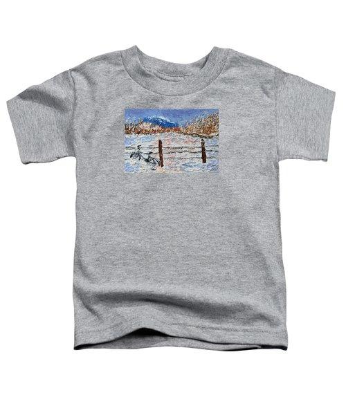 Winter Ride Toddler T-Shirt