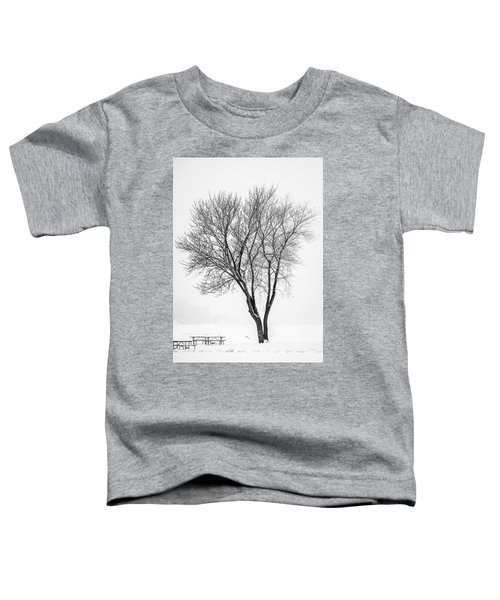 Winter Solitude Toddler T-Shirt