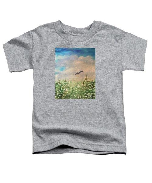 Winter To Spring Toddler T-Shirt