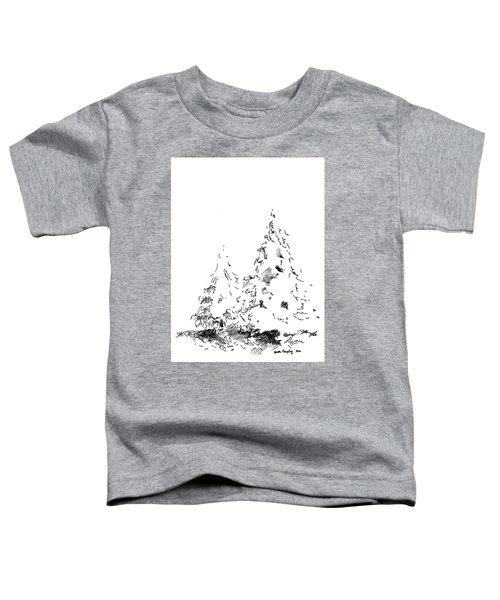 Winter Trees 1 - 2016 Toddler T-Shirt