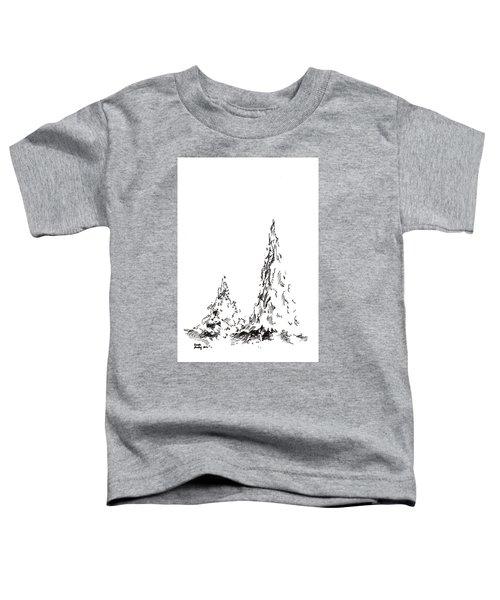Winter Trees 2 - 2016 Toddler T-Shirt