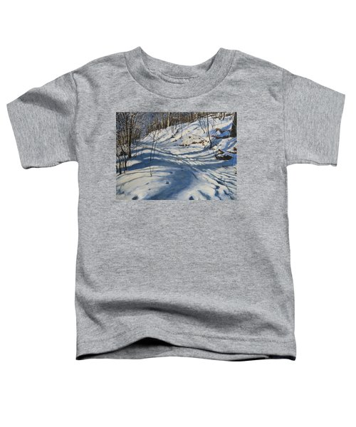 Winter's Shadows Toddler T-Shirt