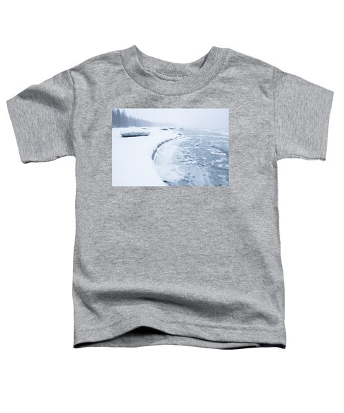Wintry Coast Toddler T-Shirt