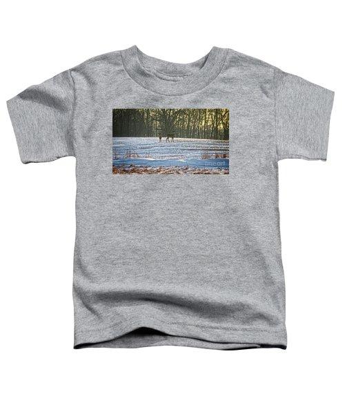 Wisconsin Whitetail Deer Toddler T-Shirt