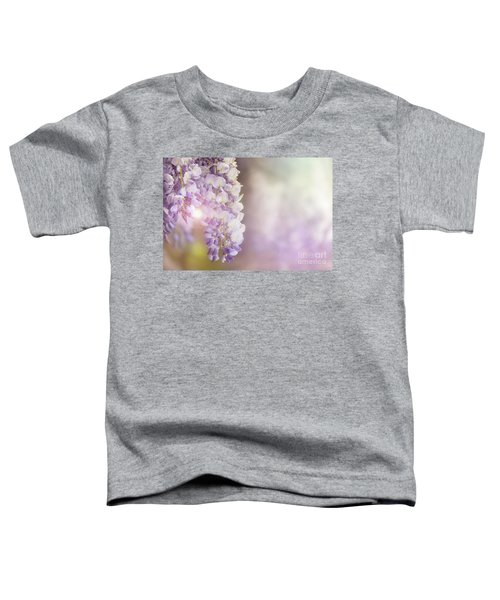 Wisteria Flowers In Sunlight Toddler T-Shirt