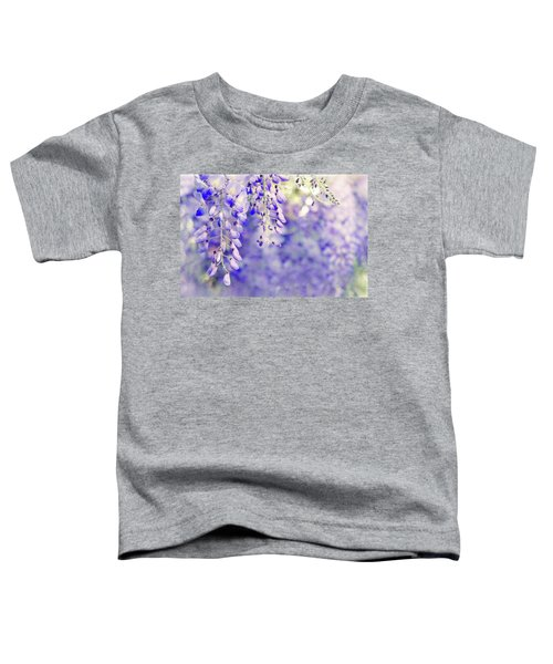 Wisteria Watercolor Toddler T-Shirt