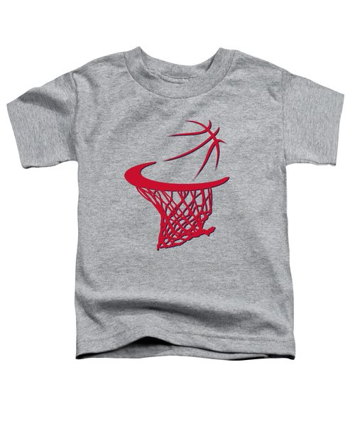 Wizards Basketball Hoop Toddler T-Shirt