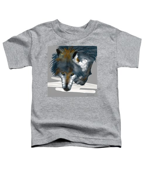 Wolf. Toddler T-Shirt