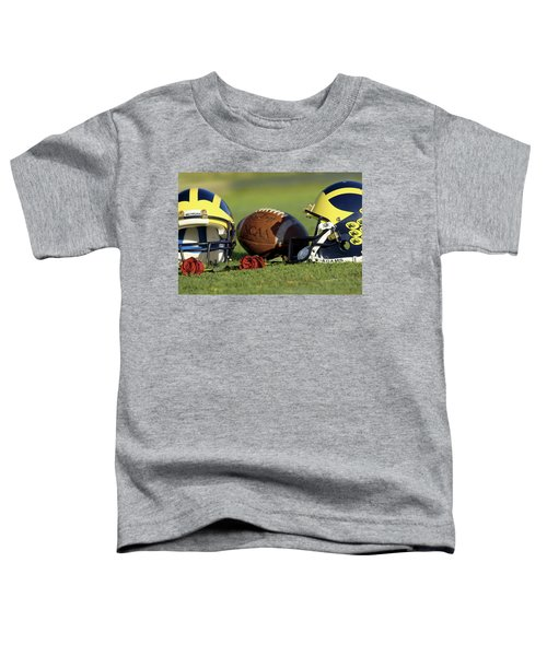 Wolverine Helmets And Roses Toddler T-Shirt