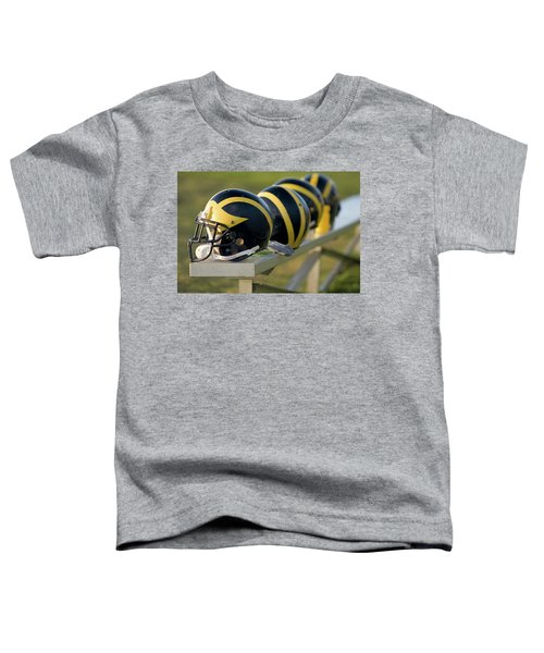 Wolverine Helmets On A Bench Toddler T-Shirt