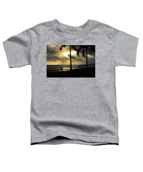 Woman In The Sunset  Toddler T-Shirt