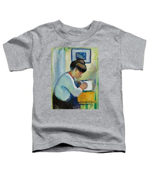 Woman Writing Toddler T-Shirt