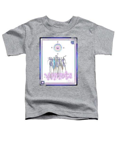 Women Chanting - Pink Full Moon 2017 Toddler T-Shirt