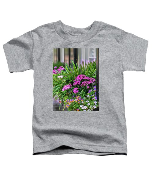 Wonderful Window Boxes Of Charleston Toddler T-Shirt