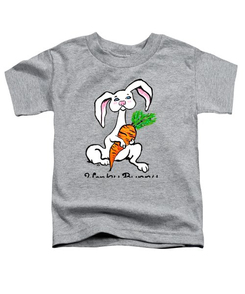 Wonky Bunny Carrot Toddler T-Shirt