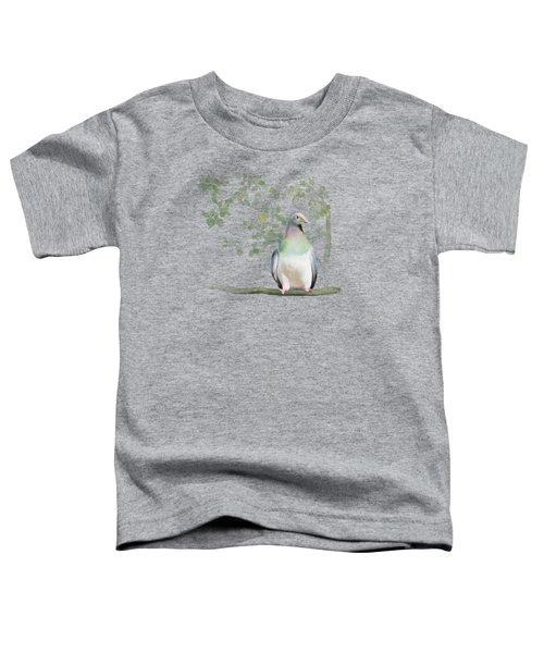 Wood Pigeon Toddler T-Shirt