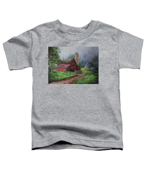 Wooden Cart Toddler T-Shirt