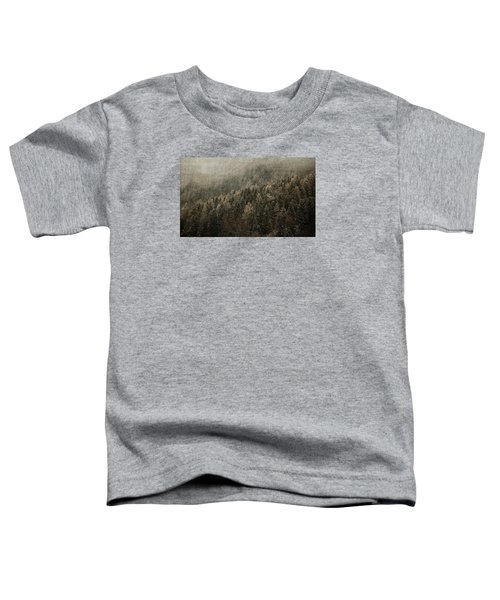 Woods In Winter Toddler T-Shirt