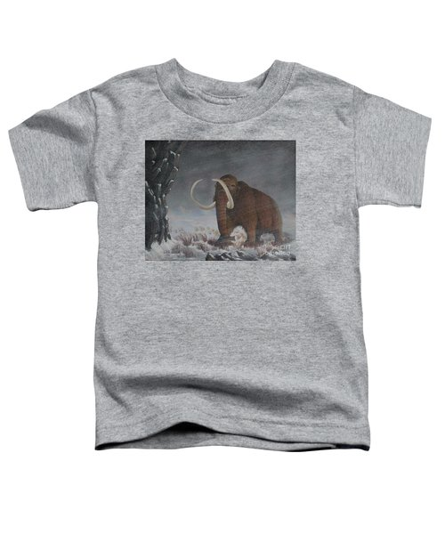 Wooly Mammoth......10,000 Years Ago Toddler T-Shirt