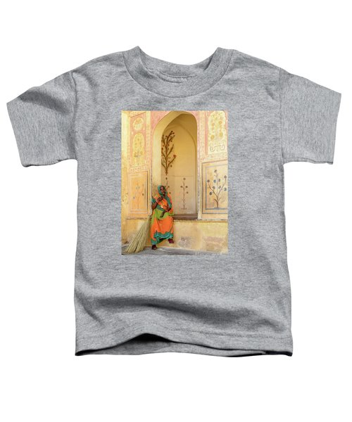 Workers In Amer Fort 01 Toddler T-Shirt