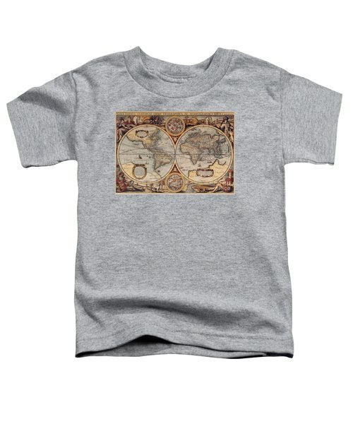 World Map 1636 Toddler T-Shirt