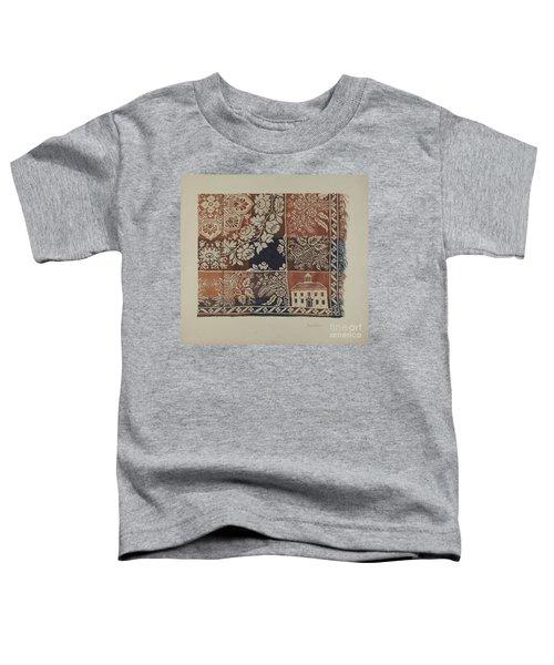 Woven Coverlet Toddler T-Shirt