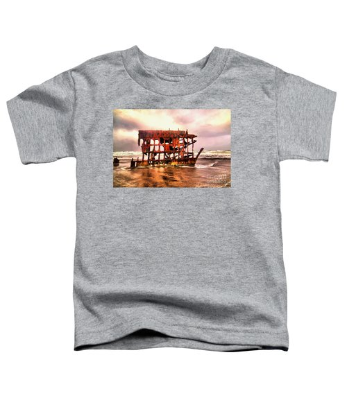 Wreck Of The Peter Iredale  Toddler T-Shirt