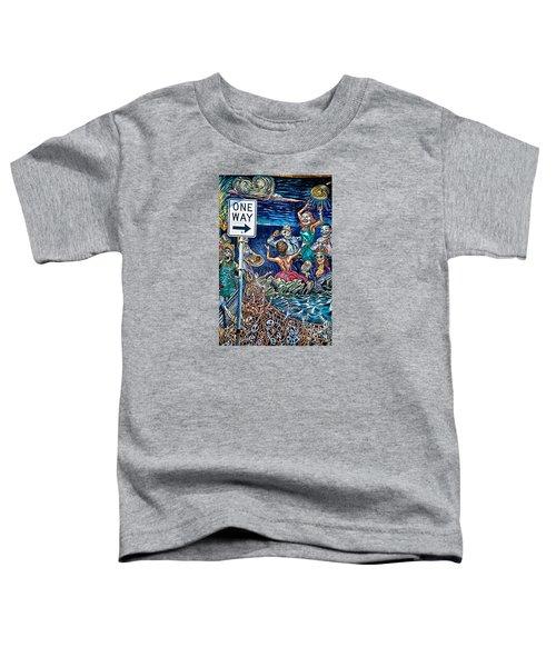 Wrong Way Toddler T-Shirt