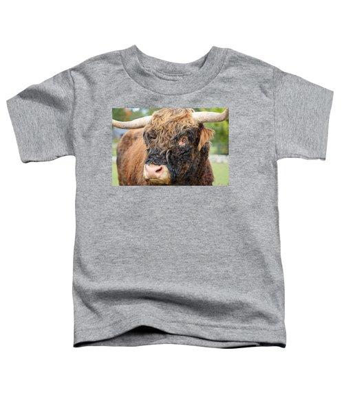 Yakity Yak Toddler T-Shirt by Karol Livote