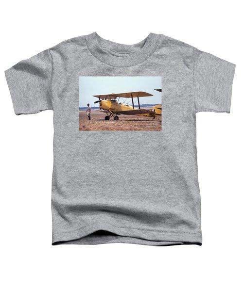 Yellow Bipe Toddler T-Shirt