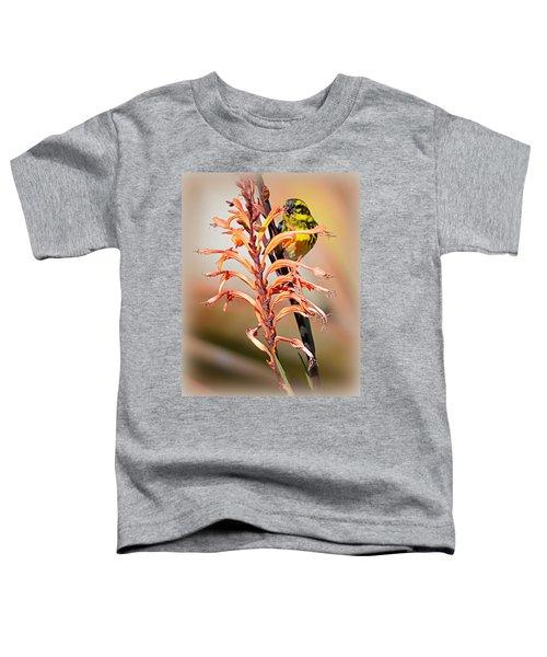Yellow Bird Hi Toddler T-Shirt