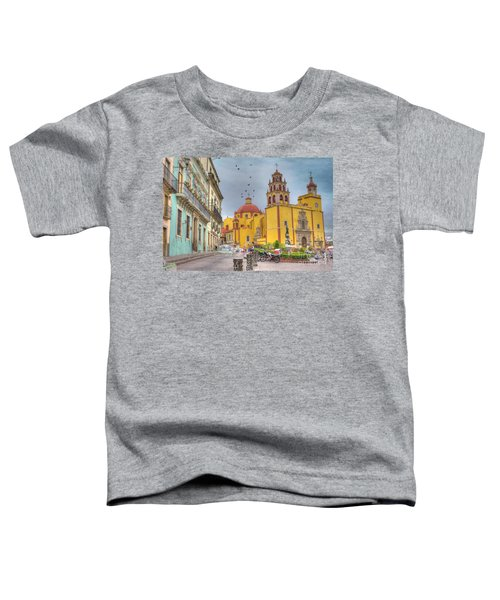 Yellow Church Toddler T-Shirt