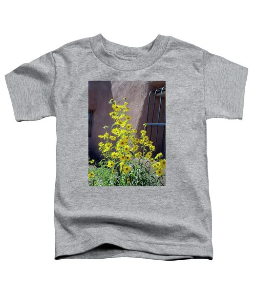 Yellow Composites At Ghost Ranch  Toddler T-Shirt