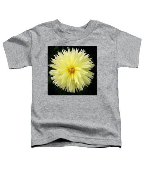 Yellow Dahlia Toddler T-Shirt