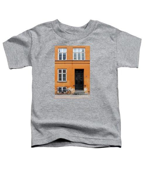 The Orange House Copenhagen Denmark Toddler T-Shirt