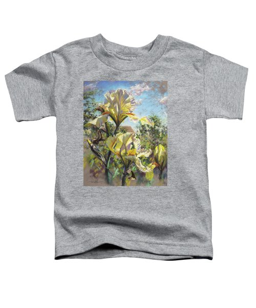 Yellow Iris Toddler T-Shirt