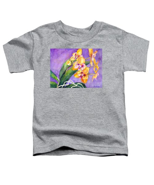 Yellow Orchids Toddler T-Shirt