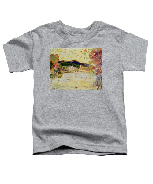 Beynac Et Cazenac , Dordogne , Yellow Sunshine  Toddler T-Shirt