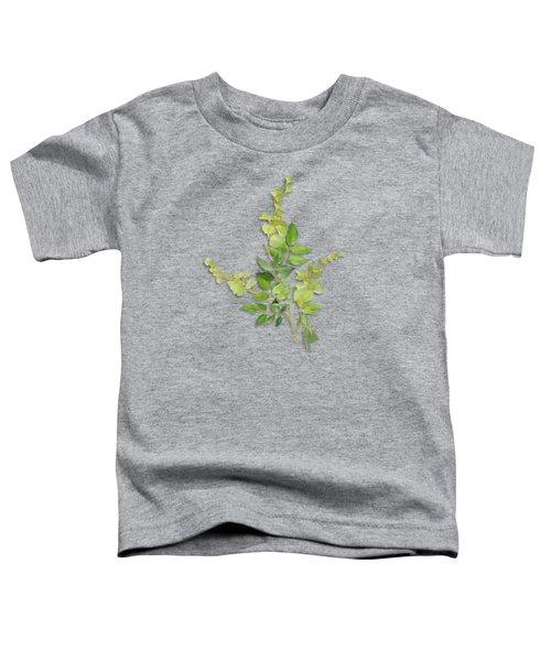 Yellow Tiny Flowers Toddler T-Shirt